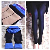 Good Quality Fashion spring & autumn female women lady double layer skinny pants silk seamless silk stockings leggings