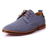 British style fashion genuine leather men sneakers by factory EU 38-46