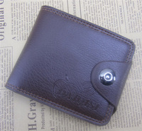 Free shipping men Wallets  New Design  Leather Top Purse Male Wallet With card holder