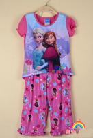new girls Frozen sleep sets  clothes 10pcs/lot   free shipping