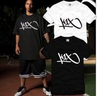 Men Women lovers design k1 x hiphop skateboard bboy short-sleeve T-shirt Men's o-neck cotton t-shirt S-XXXL