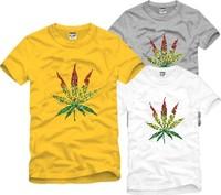 Male Women street trend of the hiphop skateboard west coast brief short-sleeve T-shirt HARAJUKU Men o-neck cotton t-shirt