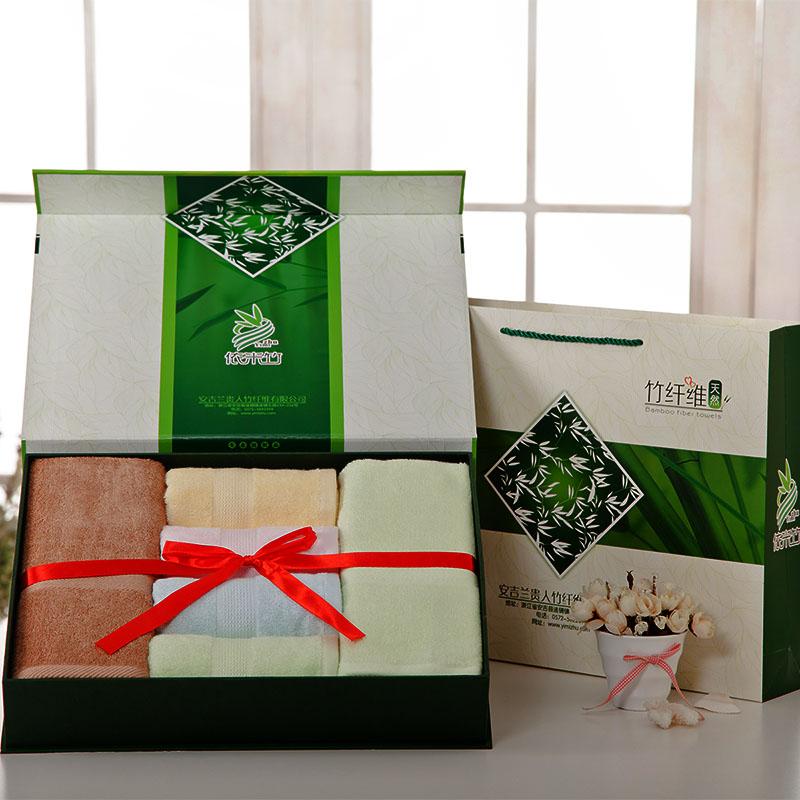 Meters bamboo fibre big box towel bath towel set holiday gifts gift wedding gift(China (Mainland))