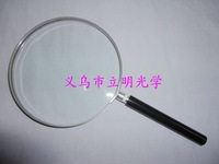 100mm semi-metallic magnifying glass to read newspapers in the elderly oversized handheld magnifying glass