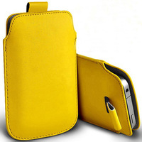 novelty13 coloer PU Leather PU Pouch Case Bag for huawei g510 Cover+1pcs HK  bulk