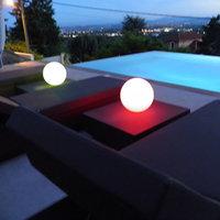 Dia 15cm LED Ball table lamp rechargeable ,mood desk ball lamp