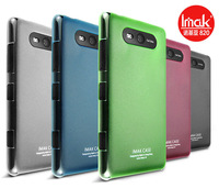 Free shipping genuine original IMAK ultrathin 0.7mm multicolor crystal shell mobile phone case for Nokia Lumia 820