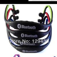 5pcs/lot Brand Sports Wireless Bluetooth Stereo Headphone fone de ouvido Earbud Headset Earphone w/ Mic for Phones