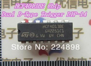 HCF4013BE Chip Dual D-Type Trigger DIP-14(China (Mainland))