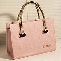2014 women's handbag candy color japanned leather women's handbag fashion handbag messenger bag one shoulder