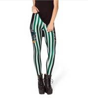 Women 2013 New Fashion SLYTHERIN LEGGINGS harry potter magic leggings FREE SHIPPING-- K205