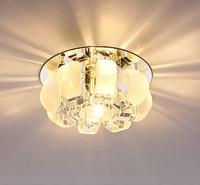 5W modern crystal lamp Led entrance light AC85-265V led balcony ceiling light lamps for home decor ceiling luminaire abajur sala
