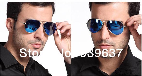 The new reflective sunglasses / yurt men and women cool / driving glasses / tide Classic / Men Sunglasses / Ray band(China (Mainland))