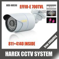 "1/3"" Sony Effio-e 700TVL 960H 36pcs IR LEDS outdoor/indoor waterproof Security CCTV Camera with bracket.Free shipping"