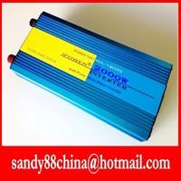 HOT SALE!! 2000W Off Inverter with charger Pure Sine Wave Inverter DC24V to 120V 60HZ  input, Wind Solar Power Inverter