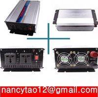 HOT SALE!! 2000W  Inverter with charger modified Sine Wave inverter ,12V to 220V  50HZ  free shipping