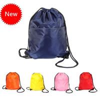 New 2014 Light waterproof sports backpack women & men travel duffle  folding drawstring tote beach bag