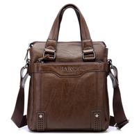 Promotion! Free 2014 Double Design Hand bag Genuine Leather Men Messenger Bags Shoulder Bags BARCA Hannibal Mens Travel Bags