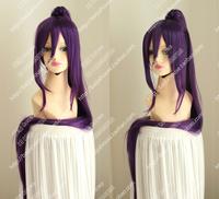 Free shipping cosplay wig To Aru Majutsu no Index  Salvere000 Purple hair + purple horse-hair wig Japanese anime character wig