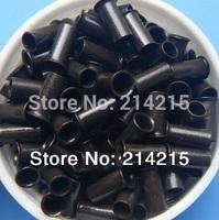 3.0x2.6mm Euro Lock  coper flared  Rings links beads 3# dark brown