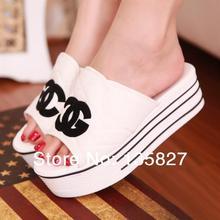 popular platform wedge sandal
