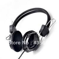 Free shipping brand 3.5mm earphone headset computer headset with microphone headset earplugs Wired PC game headphone.earpieces