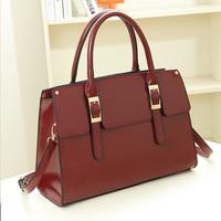 Sale 2014 black / green / red / pink shoulder bag  fashion crossbody totes women's pu leather handbag ol ladies vintage big bag
