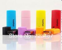 Free shipping, USB 2.0 T-flash memory card reader,/micro SD card reader