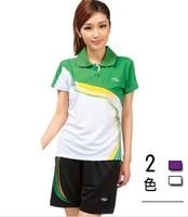 Lovers badminton clothing haneda uniforms badminton training service