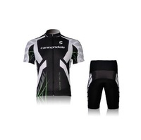 Bicycle riding clothes Suit Seoul Canon cut short, short black suit fleet edition