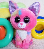 Ty big eyes chigoes dog plush toy doll child birthday gift