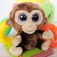 Ty big eyes monkey oralogy plush toy doll new year gift