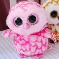 Ty big eyes owl plush doll toy child gift