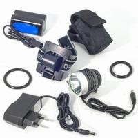 3 modes CREE XM-L T6 LD119E - Front Bike Light, sport light, bicycle light flashlight (led, 1800 lumens) Free shipping