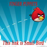 Free Shipping Cartoon Animal Finger Puppet  Small Birds For Baby/Childern/Kids Toys,Finger Dolls,30pcs/lot (6pcs/bag)