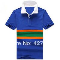 Nova moda em 2014 POLO shirt dos homens da marca Big Hourse Logo camiseta de manga curta Mnes SML XL XXL XXXL Tamanho Casual LC