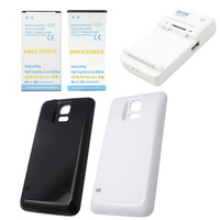7800 mAh Battery + Travel Charger + Backdoor Cover for Samsung Galaxy S5 i9600 + S5 Screen Protector Free Shipping
