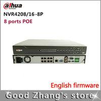Dahua NVR 8/16/32CH 1U 8PoE Network Video Recorder  NVR4208-8P,NVR4216-8P,NVR4232-8P   1 HDMI, 1 VGA  1080p  8 PoE ports