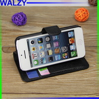 Flip Wallet Leather Purse Holster Case Cover For Apple Iphone 5C