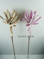 Free shipping Quality fashion flower plastic eva foam artificial flower home decoration flower