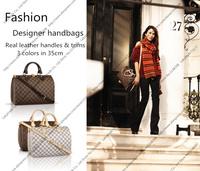 Classic Speedy Bag / Designer Women Bandouliere Shoulder Bag with Cow Leather Handles & Dust Bag & Cards M40392 N41002