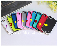 New Soft Silicone TPU Matte Case Cover for Apple iPhone 4 4S 4G Candy Colors Free Shipping 200PC