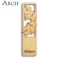 Malaysia ARCH Decorative bookmark Hibiscus 10pcs/bag