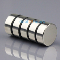 5pcs N50 Super Strong Round Disc Cylinder Magnets Rare Earth Neodymium 25mm x 10mm Free Shipping