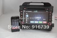 Sales! Car DVD Player multimedia for KIA Sportage 2011 2012 with GPS Navigation,Bluetooth,Ipod,Radio,3G USB Port