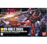 Free shipping Janpan Bandai HGUC 1/144 Red Zaku II Gundam 00 Gundam 1/144 Gundam