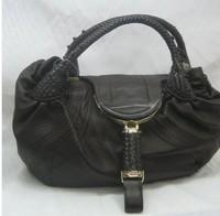 Spy Bag Genuine leather Hand Women Shoulder Bags Large Size spybag New designer brand Black/Blue Lady  Handbags