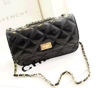 Free shipping ! Wholesale! The new 2014 channel leather women messenger bag, shoulder bag, handbag-wj