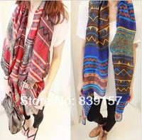 Min order is 10$( free shipping)! 2014 New Fashion Bohemia style thin cotton voile long scarf for women,Cheap wrap! good quality