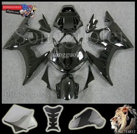 for yamaha YZFR6 2003 2004 2005  all pure black flame Fairing Kit Set Fit for yamaha YZF R6 2003 2005 2004